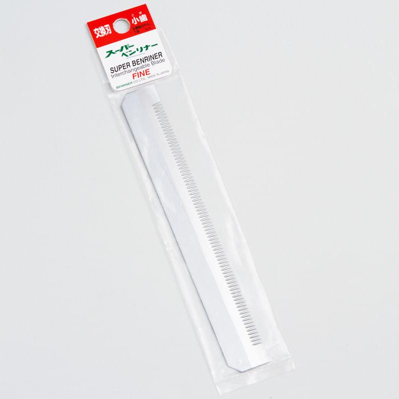 lamina-pente-fino-para-cortador-Super-Benriner-na-embalagem