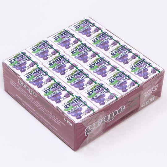 caixa-de-chicletes-sabor-uva-48-unidades-Marukawa-embalagem