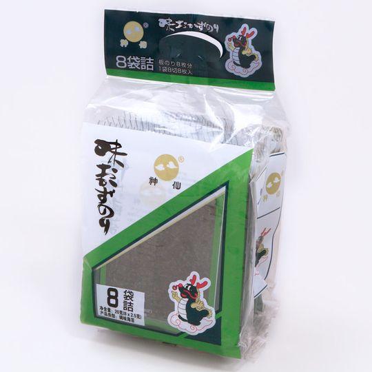 alga-marinha-temperada-okazunori-8-pacotes-Shinsen-embalagem-frente