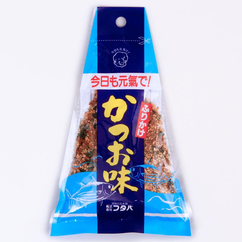 tempero-para-arroz-furikake-triangulo-katsuo-40g-Futaba-embalagem-frente