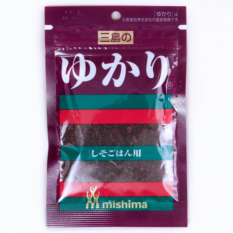 tempero-para-arroz-shiso-gohan-yukari-26g-Mishima-embalagem-frente