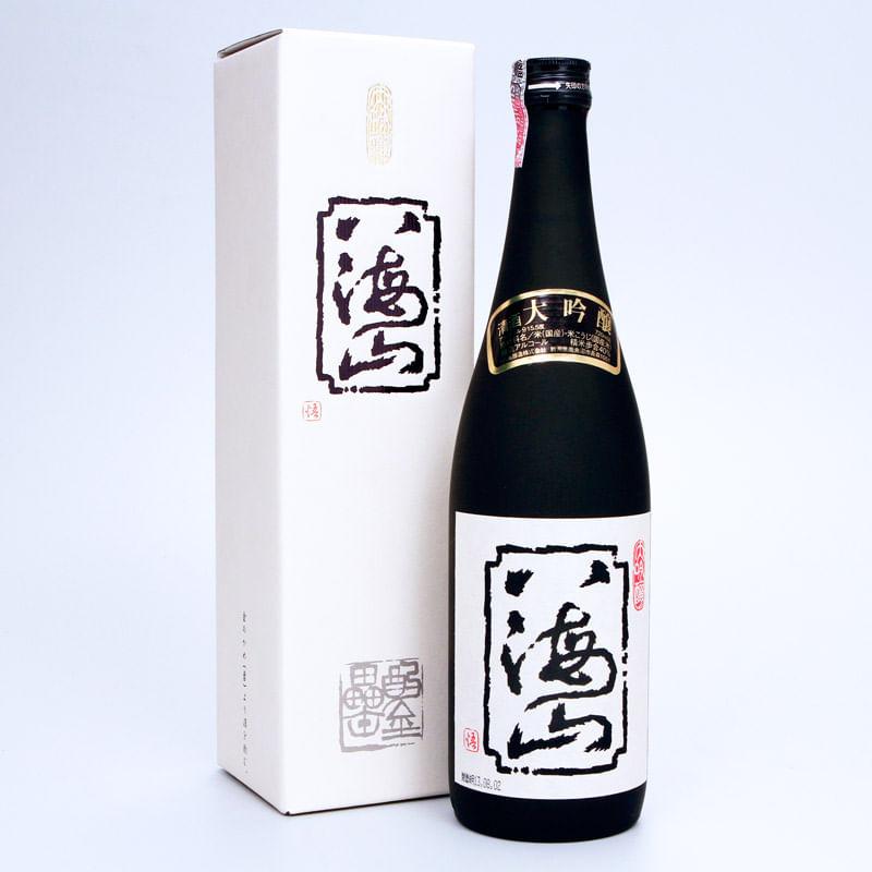 sake-daiginjo-720mL-Hakkaisan-embalagem-conteudo