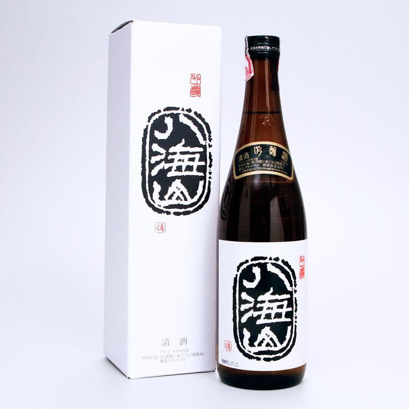 sake-ginjo-720mL-Hakkaisan-embalagem-conteudo